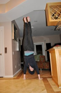 Dancing. Hand Stands. I mean...all around...I'm like realllyyy talented.