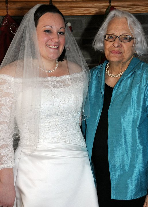 Mims and Meg at Megan's wedding. Such beautiful ladies :)